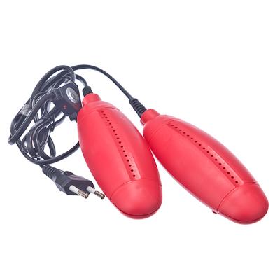 LEBEN Сушилка для обуви большая, пластик, 220В, 12Вт, температура нагрева 65-80 градусов, арт.№ 410-004