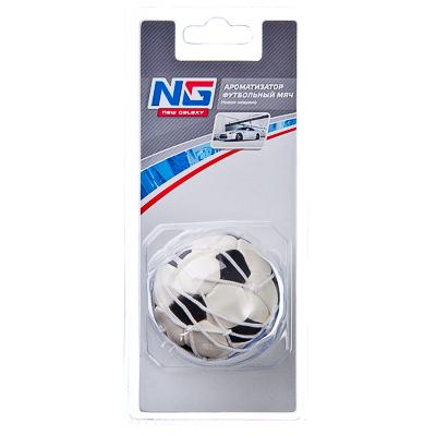 NEW GALAXY Ароматизатор Футбольный мяч, аромат новая машина, арт.№ 794-193