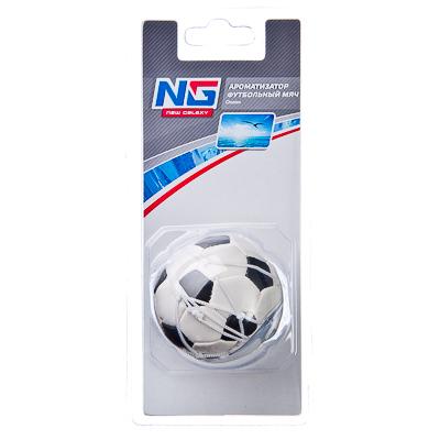 NEW GALAXY Ароматизатор Футбольный мяч, аромат океан, арт.№ 794-194