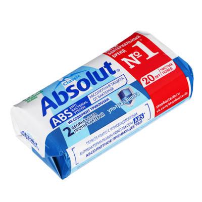 Мыло твердое Absolutантибактериальное к/у 90г, арт.6059, арт.№ 952-006