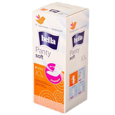Прокладки ежедневные Bella Panty Soft 20шт, арт.20-081, арт.№ 939-002