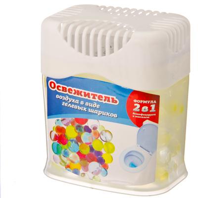 Освежитель воздуха в виде гелевых шариков, 4 аромата, арт.№ 991-005