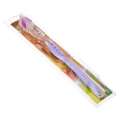 Зубная щетка Классика, пластик, средняя жесткость, индекс 5, степень 6<G<9, арт.№ 982-002