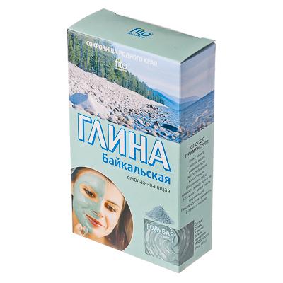 Глина голубая Байкальская к/у100г, Арт.2402, арт.№ 978-001