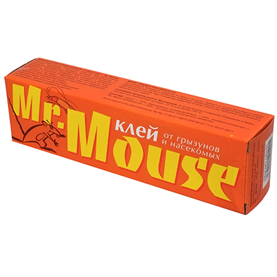 Mr.MOUSE Клей от грызунов 135гр, туба 60мл, арт.№ 968-001