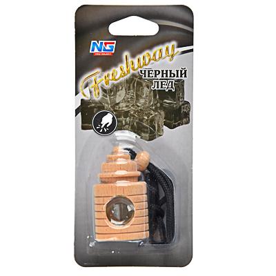 NEW GALAXY Ароматизатор подвесной Freshway, черный лед, арт.№ 794-299