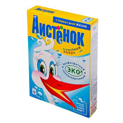 Стиральный порошок Аистенок бесфосфатный к/у 400г, арт.№ 958-035