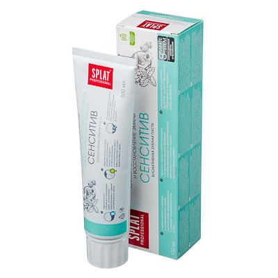Зубная паста Сплат Сенситив туба 100мл арт.1001-02-12, арт.№ 981-007