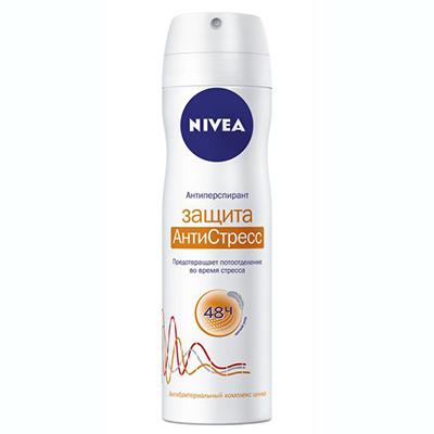 Дезодорант аэрозоль NIVEA женский Защита Антистресс в/у 150мл, арт.№ 976-013