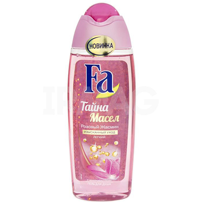 Гель для душа Fa Тайна масел Розовый жасмин п/б 250 мл, арт.№ 951-014