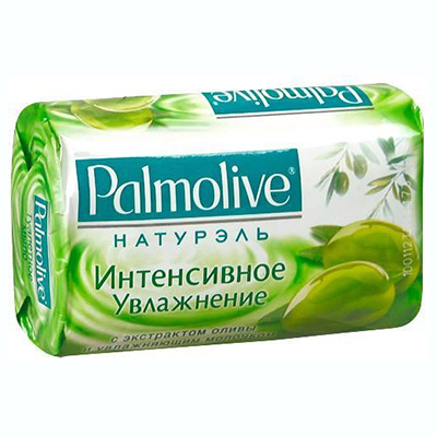 Мыло твердое Palmolive Интенсивное увлажнение с экстрактом оливы и увлажняющим молочком к/у 90г, арт.№ 952-026