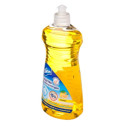 Средство для мытья посуды Чиртон лимон, п/б 500мл + 75мл, арт.№ 992-009