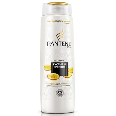 Шампунь PANTENE Густые и крепкие для нормальных волос п/б 400мл, арт.№ 974-035