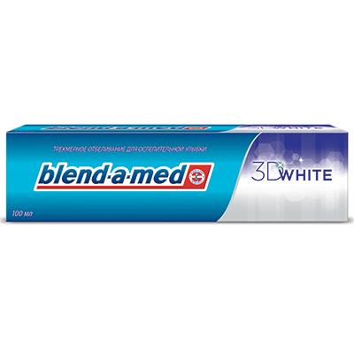 Зубная паста BLEND_A_MED 3D White к/у 100мл, арт.№ 981-024