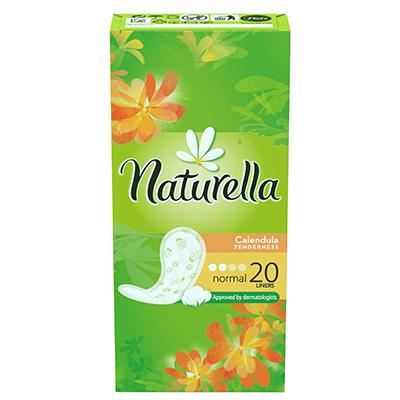 Прокладки гигиенические на каждый день NATURELLA Calendula Tenderness Normal Single к/у 20шт, арт.№ 939-010