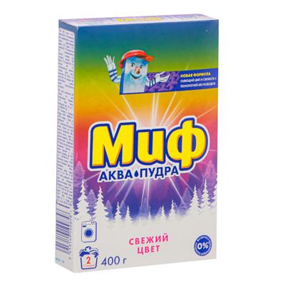 Стиральный порошок МИФ Автомат 3в1 Свежий цвет к/у 400г, арт.№ 958-059