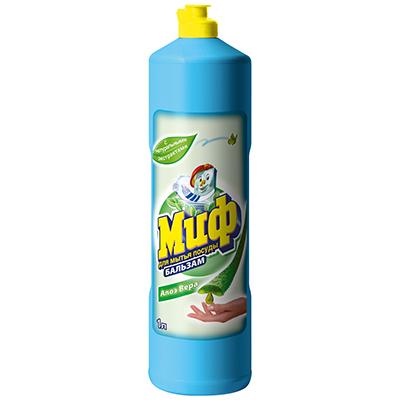 Средство для мытья посуды МИФ Бальзам Алоэ Вера п/б 1л, арт.№ 992-016