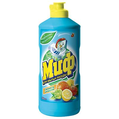 Средство для мытья посуды МИФ Свежесть цитрусов п/б 500мл, арт.№ 992-023