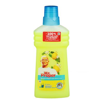Жидкость для мытья полов и стен MR PROPER Лимон, п/б 500мл, арт.№ 986-006