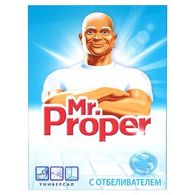 Чистящее средство универсальное для твердых поверхностей MR PROPER Лимон к/у 400г, арт.№ 986-008