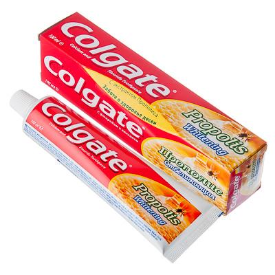 Зубная паста COLGATE Прополис отбеливающая, 100мл, 188189270, арт.№ 981-027