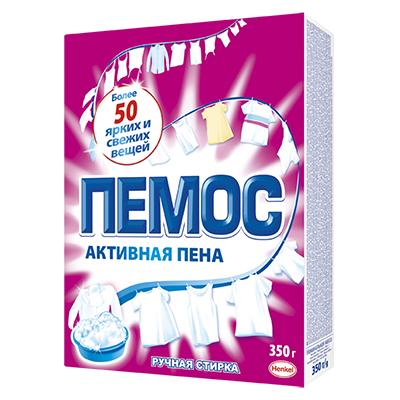 Стиральный порошок ПЕМОС для ручной стирки, к/у, 350г, арт.№ 958-067