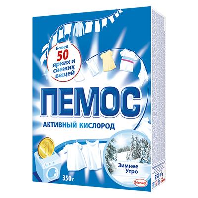 Стиральный порошок ПЕМОС Зимнее утро для белого белья, к/у 350 г, арт.№ 958-069