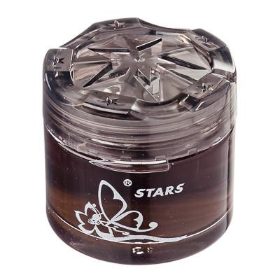 NEW GALAXY Ароматизатор воздуха гелевый Star, черный лед, арт.№ 794-436