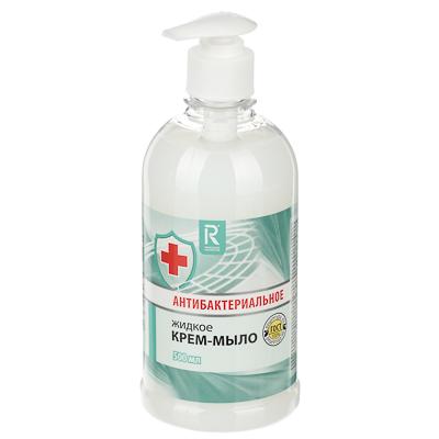 Крем-мыло жидкое AURA антибактериальное, 500мл КК/8 07378/2629, арт.№ 952-062