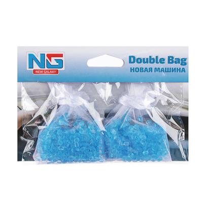 NEW GALAXY Ароматизатор воздуха пакетики Double Bag, Новая Машина, арт.№ 794-463