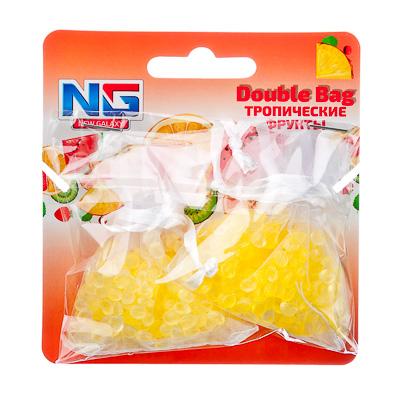 NEW GALAXY Ароматизатор воздуха пакетики Double Bag, тропические фрукты, арт.№ 794-465