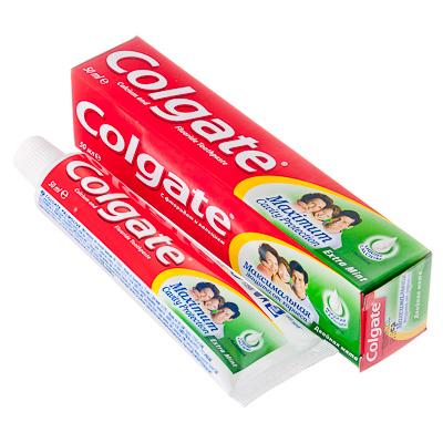 Зубная паста COLGATE Максимальная защита от кариеса Двойная Мята, 50 мл, 188189273, арт.№ 981-038