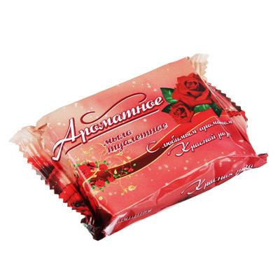 Мыло твердое Ароматное Роза/Алоэ, п/п 50г, 80341, арт.№ 952-066