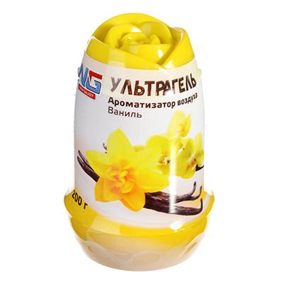 NEW GALAXY Ароматизатор воздуха гелевый Ультрагель, 200г, Ваниль, арт.№ 778-013