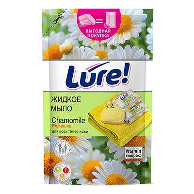Мыло жидкое LURE витаминное Ромашка, дой-пак, 450мл, арт.05695/09931, арт.№ 952-079