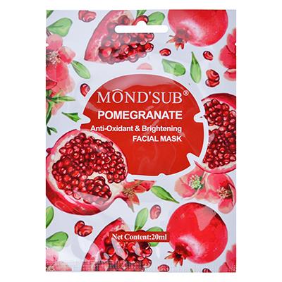 Маска для лица Mondsub с антиоксидантным эффектом для сияния кожи с гранатом, 20мл, арт.№ 978-034