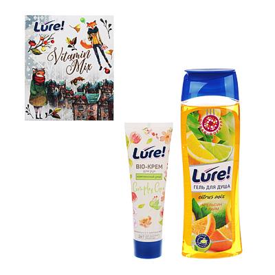Набор подарочный LURE Vitamin Mix/Herbal Beauty Гель для душа 260мл+Крем для рук 75мл,арт25431/25430, арт.№ 937-056