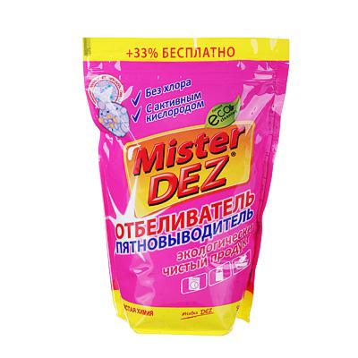 Отбеливатель-пятновыводитель Mister Dez Eco-Cleaning с активным кислородом, 800 г, арт 133, арт.№ 957-010