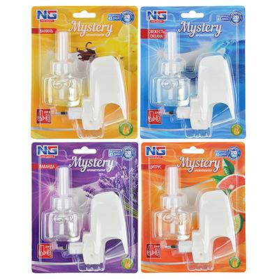 "NEW GALAXY Ароматизатор ""Мистери"" в розетку 220В, ваниль, лаванда, цитрус, свежесть океана, арт.№ 778-085"