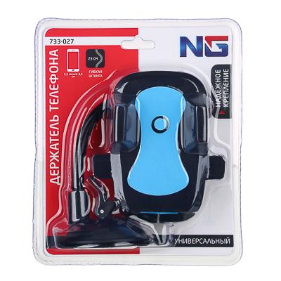 NG Держательтелефона на присоске, тип: раздвижной, гибкая ножка, 23см, пластик, арт.№ 733-027