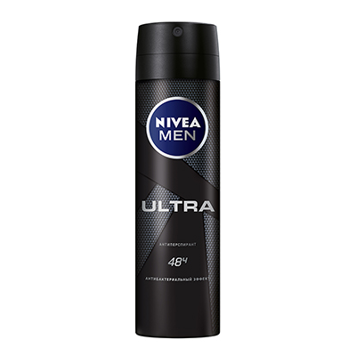 Антиперспирант мужской спрей Nivea ULTRA, 150 мл, 80027, арт.№ 976-053
