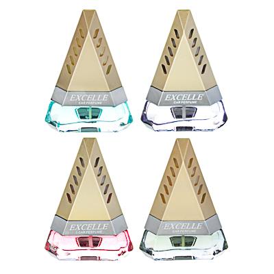 NEW GALAXY Ароматизатор на дефлектор Excelle, тропическая ночь, арбуз, новая машина, океанский бриз, арт.№ 794-580