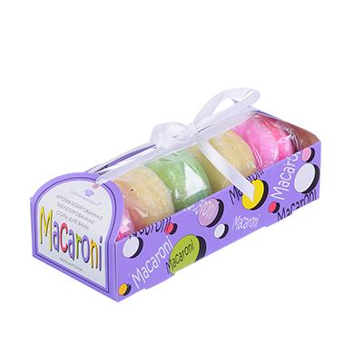 """Набор подарочный """"Macaroni"""" Соль ароматизированная 5шт x 50г, арт.№ 937-069"""