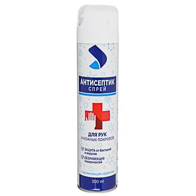 Спрей для рук и кожных покровов антисептический, 300мл, арт.№ 911-020