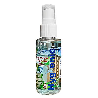 Спрей для рук Hygienic Aloe Vera 50мл, арт.№ 911-022
