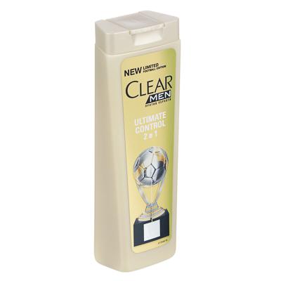 Шампунь и бальзам-ополаскиватель 2 в 1 для мужчин CLEAR против перхоти, 200мл, 67400169, арт.№ 974-091