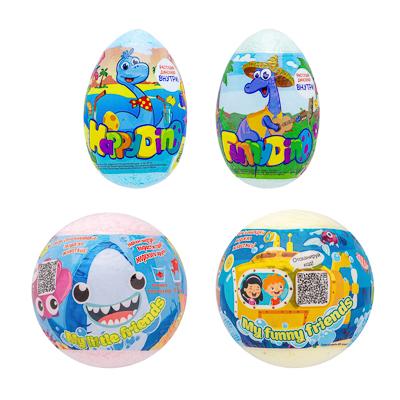 Средство шипучее для ванн My Little friends / Happy Dino с растущей игрушкой, 130г, арт.№ 927-052