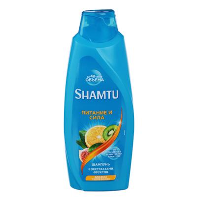 Шампунь SHAMTU Питание и сила с экстрактами фруктов, 650мл, арт.№ 974-094