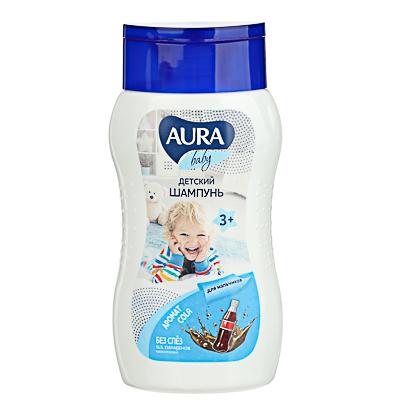 Шампунь детский AURA Baby для мальчиков 3+, 200мл, арт.№ 927-056