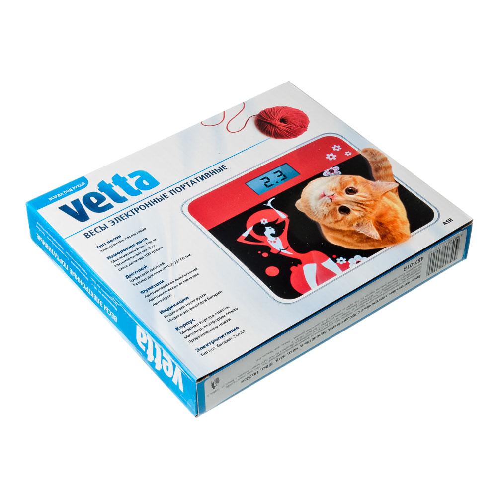 Весы напольные электрон., ЖК-дисплей, переносные, макс. нагр.до 180кг, 19x22см, VS-018, арт.№ 487-018